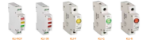 Immagine di Indicatore di tensione per la guida din KLI-3G - VERDE
