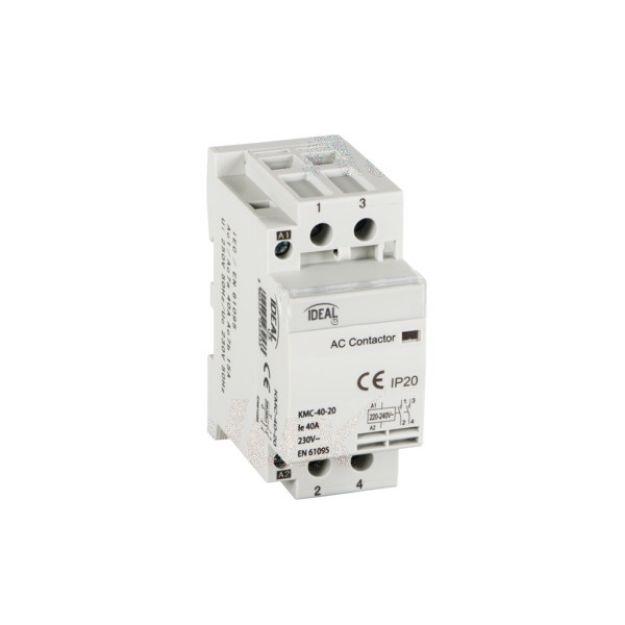 Immagine di Contattore modulare, alimentazione 230V AC KMC KMC-40-20