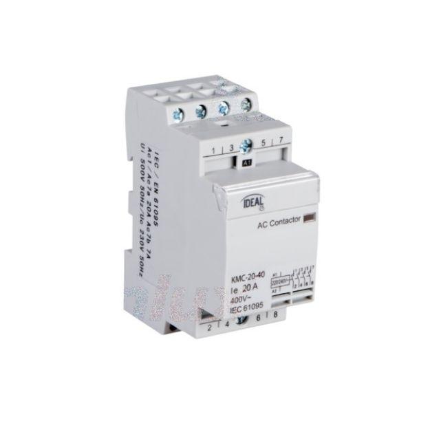 Immagine di Contattore modulare, alimentazione 230V AC KMC KMC-20-40