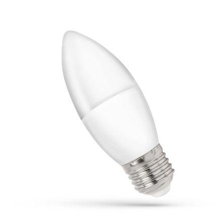 Immagine di LAMPADINA ATTACCO E27 - MODELLO C38 - 8W - LED