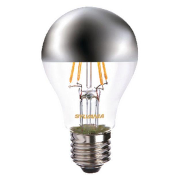 Immagine di Lampadina LED Vintage GLS 4 W 450 lm -  2700 K - CON ARGENTO