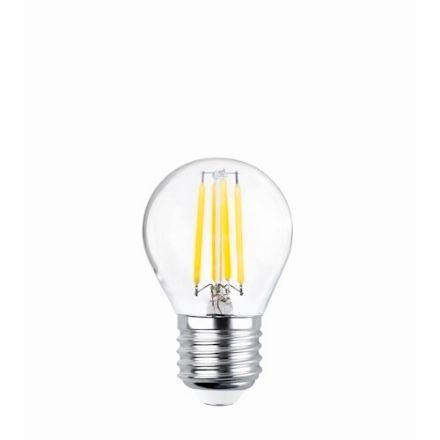 Immagine di LED Bulb Filament E27 G45 4W 230V 2700K 470lm COG