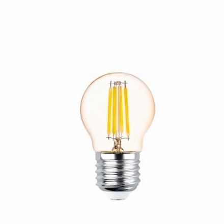 Immagine di LED Bulb Filament E27 G45 4W 230V 2200K 400lm COG gold