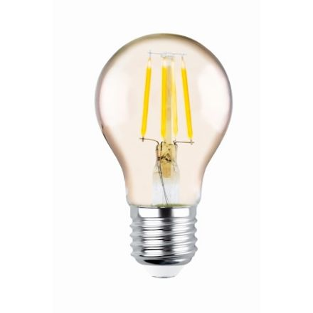 Immagine di LED Bulb Filament E27 A60 4W 230V 2200K 400lm COG gold