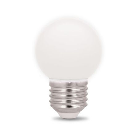 Immagine di Lampadina LED - E27 - G45 - 2W - 230V - BIANCO NEUTRO - 5 pezzi