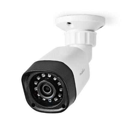 Immagine di Videocamera di sicurezza CCTV  Full HD 1080p   Visione notturna: 20 m   Alimentazione da rete   CMOS   Angolo di osservazione: 80 °   Tecnologia della lampada: 3.6 mm   ABS +   Bianco / Nero - IP66