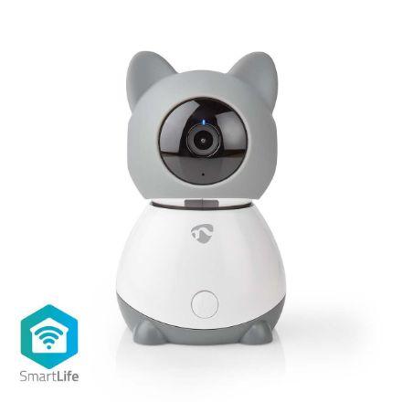 Immagine di Fotocamera interna SmartLife  Wi-Fi | Full HD 1080p | Controllo Pan-tilt PTZ | Cloud / MicroSD | Con sensore di movimento | Visione notturna | Android™ & iOS | Bianco / Grigio