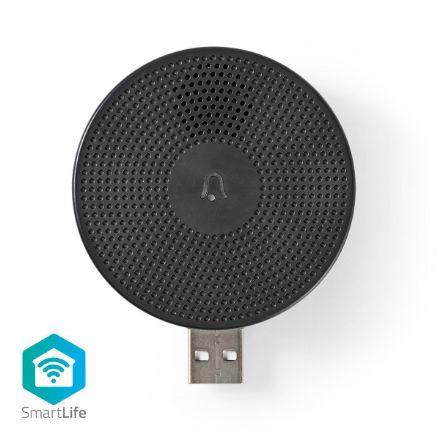 Immagine di SmartLife Chime  Wi-Fi | Accessori per: WIFICDP10GY | Alimentazione a USB | 4 Suoni | 5 V DC | Volume regolabile | Nero