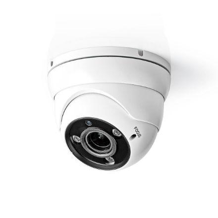 """Immagine di Videocamera di sicurezza CCTV  Full HD 1080p   Visione notturna: 30 m   Alimentazione da rete   1/3"""" CMOS   Angolo di osservazione: 96 °   Tecnologia della lampada: 2.8 - 12 mm   ABS +   Bianco / Nero - IP66 - BULLET"""
