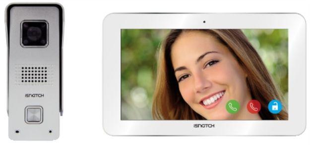 Immagine di Kit myiDoor - Kit videocitofono ip wi-fi hd + monitor tablet