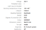 Immagine di CHLOE GU10 TRACK su binario CON sorgente luminosa sostituibile GU10 - ORIENTABILE  - IP20 - 95*123 - BIANCO