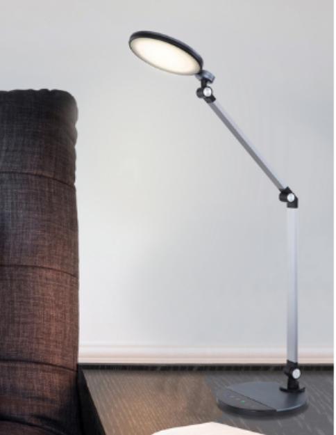 Immagine di KONSTI Lampada da tavolo - 10W - CCT  - 70*90,5 - ALLUMINIO / NERO