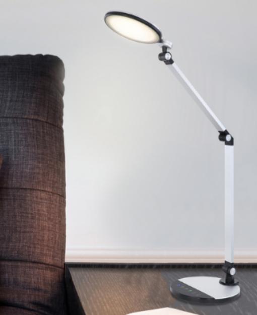Immagine di KONSTI Lampada da tavolo - 10W - CCT  - 70*90,5 - SILVER / NERO