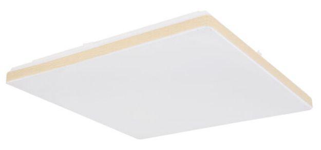 Immagine di ULLY - PLAFONIERA A SOFFITTO LED  CON TELECOMANDO - 2700*4000*6000K - 48,5*48,5*6 CM  - 24W - SMART LIGHT - BORDO CHIARO