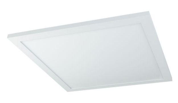 Immagine di ROSI LED 30W - 3000*4200*6000K - 45*45*4,5 CM - QUADRATA - SMART LIGHT O TELECOMANDO