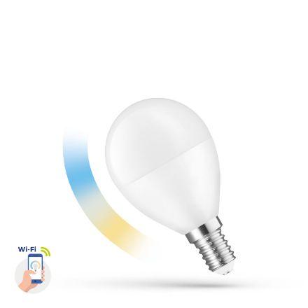 Immagine di LAMPADINA CCT SMART LED BALL - 5W E-14 - 220°