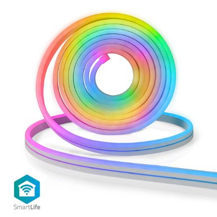 Immagine di Striscia LED multicolore SmartLife  Wi-Fi | Multi colore | 5000 mm | IP65 | 960 lm | Android™ / IOS