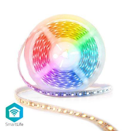 Immagine di Striscia LED multicolore SmartLife  Wi-Fi | Bianco caldo / Bianco freddo / RGB | 5000 mm | IP65 | 2700 - 6500 K | 405 lm | Android™ / IOS