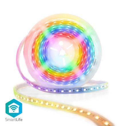 Immagine di Striscia LED multicolore SmartLife  Wi-Fi | Multi colore | 5000 mm | IP65 | 700 lm | Android™ / IOS