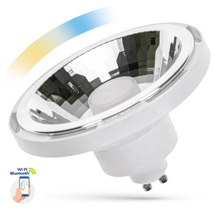 Immagine di LAMPADINA AR111 CCT SMART LED - AR111 GU10 10W 30° - BIANCO