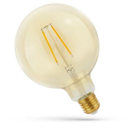 Immagine di LAMPADINA LED GLOB 5,5W E27 COG  - RETRO'  - LUCE CALDA - REGOLABILE DA 1700/2700K